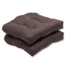 Forsyth Wicker Seat Cushion (Set of 2)