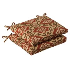 Outdoor Squared Seat Cushion (Set of 2)