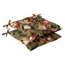 Outdoor Tufted Seat Cushion (Set of 2)