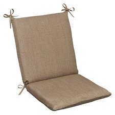 <strong>Pillow Perfect</strong> Outdoor Squared Sunbrella Fabric Chair Cushion