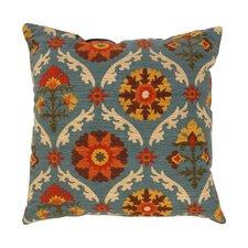 Mayan Medallion Throw Pillow