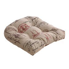French Postale Chair Cushion