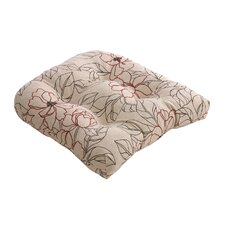 <strong>Pillow Perfect</strong> Floral Chair Cushion