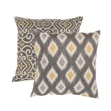 Damask and Rodrigo Throw Pillow (Set of 2)
