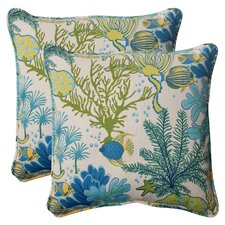 Splish Splash Corded Throw Pillow (Set of 2)