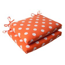 Polka Dot Seat Cushion (Set of 2)