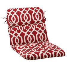 <strong>Pillow Perfect</strong> New Geo Chair Cushion