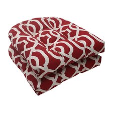 New Geo Wicker Seat Cushion (Set of 2)