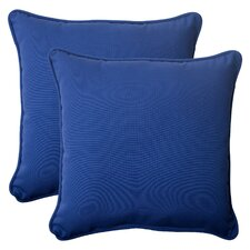 <strong>Pillow Perfect</strong> Fresco Corded Throw Pillow (Set of 2)