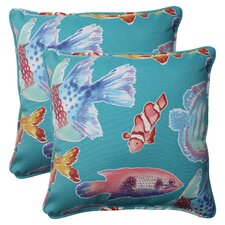 <strong>Pillow Perfect</strong> Kiley Corded Throw Pillow (Set of 2)