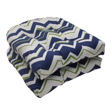 <strong>Pillow Perfect</strong> Tempo Wicker Seat Cushion (Set of 2)