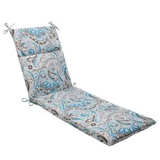 <strong>Pillow Perfect</strong> Paisley Chaise Lounge Cushion
