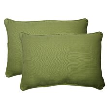 <strong>Pillow Perfect</strong> Forsyth Corded Throw Pillow (Set of 2)