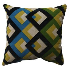 <strong>Pillow Perfect</strong> Overlap Geo Poly / Cotton Pillow
