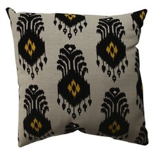 <strong>Pillow Perfect</strong> Ikat Cotton Pillow