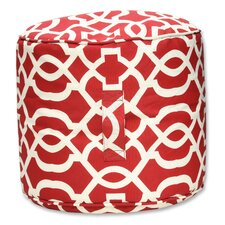 <strong>Pillow Perfect</strong> New Geo Bean Bag Ottoman