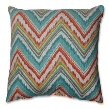 Chevron Cherade Polyester Throw Pillow