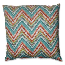 <strong>Pillow Perfect</strong> Chevron Cherade Polyester Floor Pillow