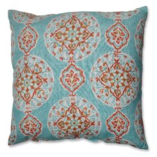 Mirage Medallion Polyester Floor Pillow