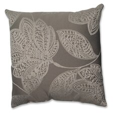 <strong>Pillow Perfect</strong> Beatrice Jute Polyester Throw Pillow