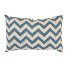 <strong>Pillow Perfect</strong> Chevron Rectangular Throw Pillow