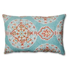 <strong>Pillow Perfect</strong> Mirage Medallion Polyester Throw Pillow