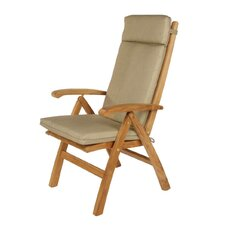 <strong>Barlow Tyrie Teak</strong> Highback Chair Cushion