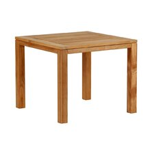 <strong>Barlow Tyrie Teak</strong> Metzo Teak Square Side Table