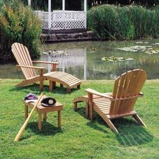 <strong>Barlow Tyrie Teak</strong> Adirondack Seating Set