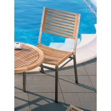 <strong>Barlow Tyrie Teak</strong> Equinox Teak Dining Side Chair with Cushion