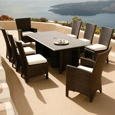 <strong>Barlow Tyrie Teak</strong> Savannah 9 Piece Dining Set