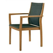<strong>Barlow Tyrie Teak</strong> Horizon Stacking Lounge Arm Chair