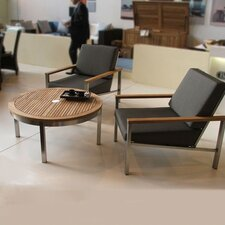 <strong>Barlow Tyrie Teak</strong> Equinox Round Table Seating Group