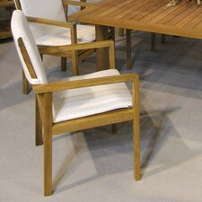<strong>Barlow Tyrie Teak</strong> Dining Arm Chair with Cushion