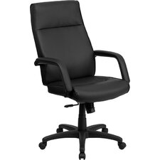 <strong>Flash Furniture</strong> High-Back Leather Executive Office Chair with Memory Foam Padding