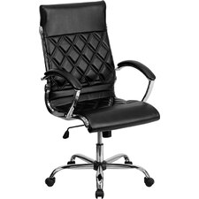 <strong>Flash Furniture</strong> High-Back Leather Executive Office Chair