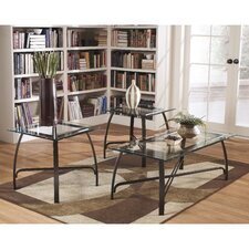 Liddy 3 Piece Coffee Table Set