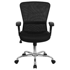 Mid-Back Mesh Contemporary Task Chair