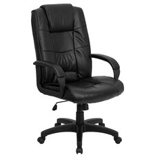 Personalized High-Back Executive Office Chair