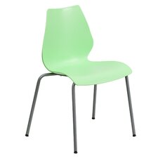Hercules Series Stackable Chair with Lumbar Support and Frame