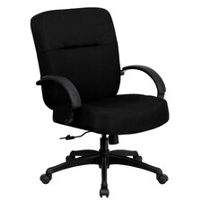 Hercules Series High-Back Big and Tall Fabric Office Chair with Arms
