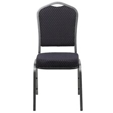 Hercules Series Stacking Crown Back Banquet Chair (Set of 4)