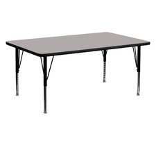 Rectangular Activity Table