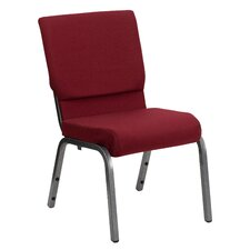 """Hercules Series 18.5"""" Wide Stacking Church Chair with 4.25"""" Thick Seat"""