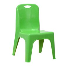 "11"" Plastic Classroom Stackable School Chair"
