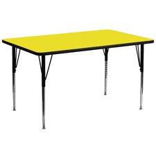 Rectangular Activity Table