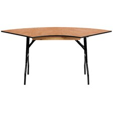 "48"" Semi Circle Folding Table"