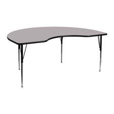 "72"" x 48"" Kidney Classroom Table"