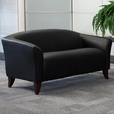 Hercules Imperial Series Leather Love Seat