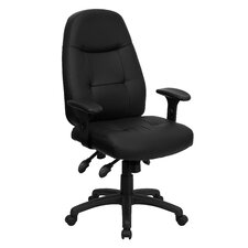 <strong>Flash Furniture</strong> Multi-Functional High-Back Office Chair with Height Adjustable Arms